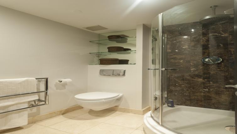 Bathroom at the One Beacon Apartment - Citybase Apartments