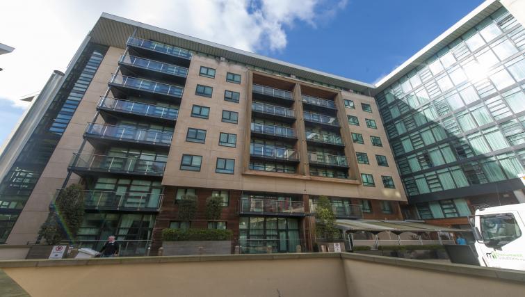 Exterior at the One Beacon Apartment - Citybase Apartments
