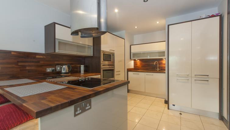 Kitchen at the One Beacon Apartment - Citybase Apartments