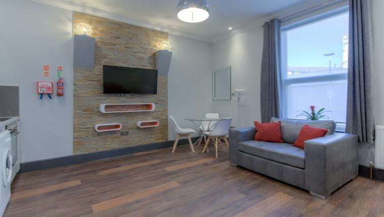 Living area at The Bromley Apartments - Citybase Apartments
