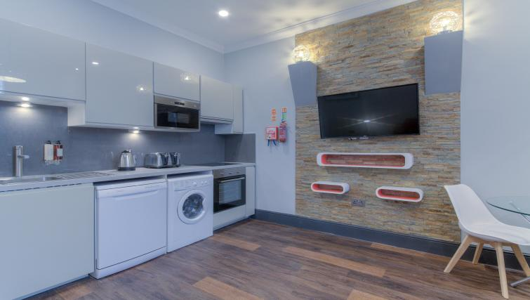 kitchen at The Bromley Apartments - Citybase Apartments