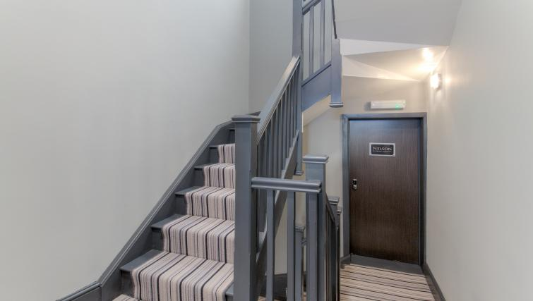 Hallway at The Bromley Apartments - Citybase Apartments