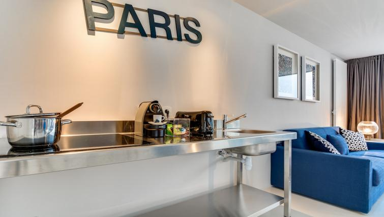 Kitchen at the Brune Apartments - Citybase Apartments