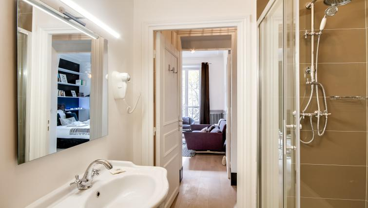 Bathroom at Saint Germain Apartments - Citybase Apartments