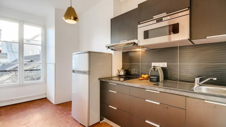 Kitchen at Saint Germain Apartments - Citybase Apartments