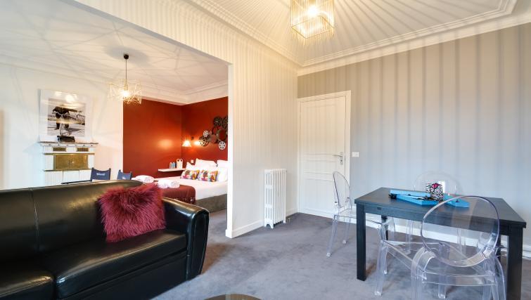 Living space at Saint Germain Apartments - Citybase Apartments