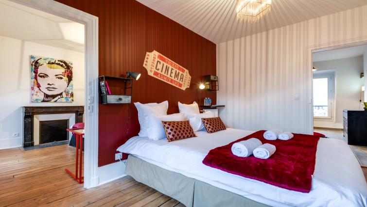 Bedroom at Saint Germain Apartments - Citybase Apartments