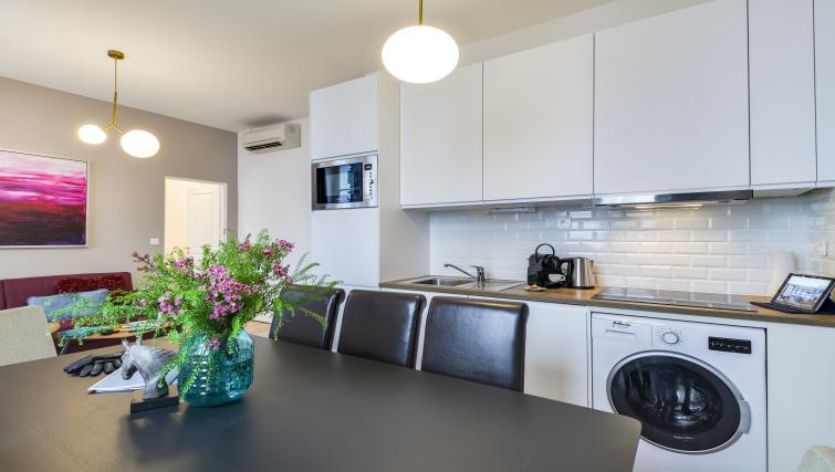 Kitchen at the Monsigny Apartments - Citybase Apartments