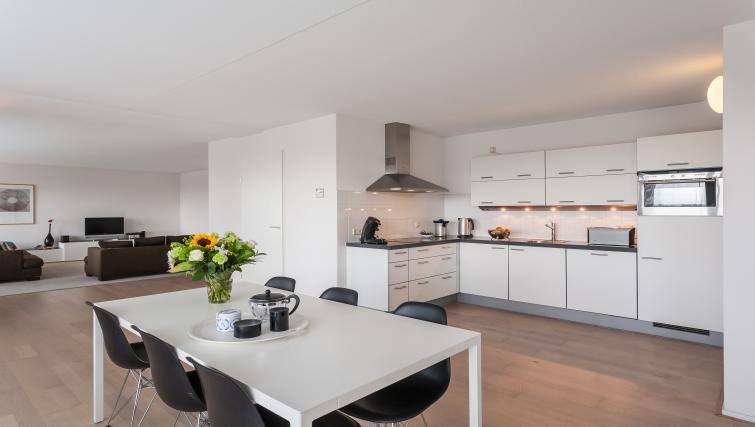 Dining area at La Fenêtre Apartments - Citybase Apartments
