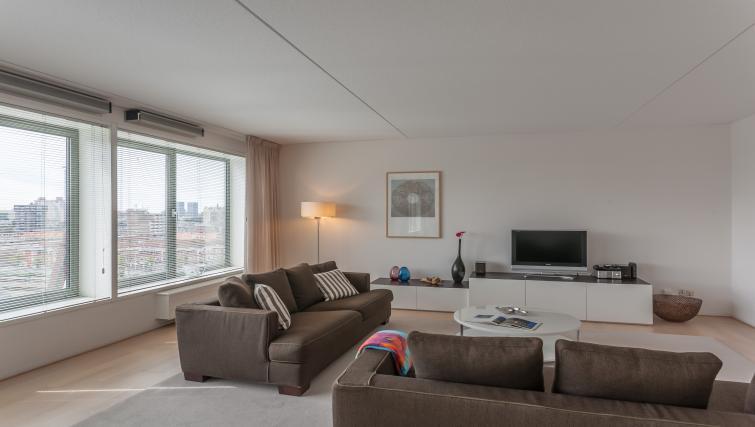 TV at La Fenêtre Apartments - Citybase Apartments