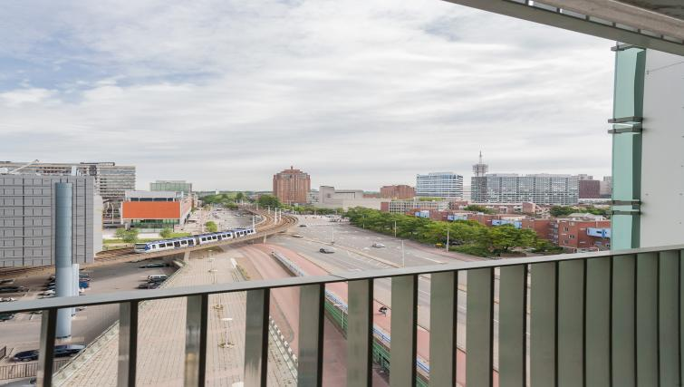 Balcony at La Fenêtre Apartments - Citybase Apartments