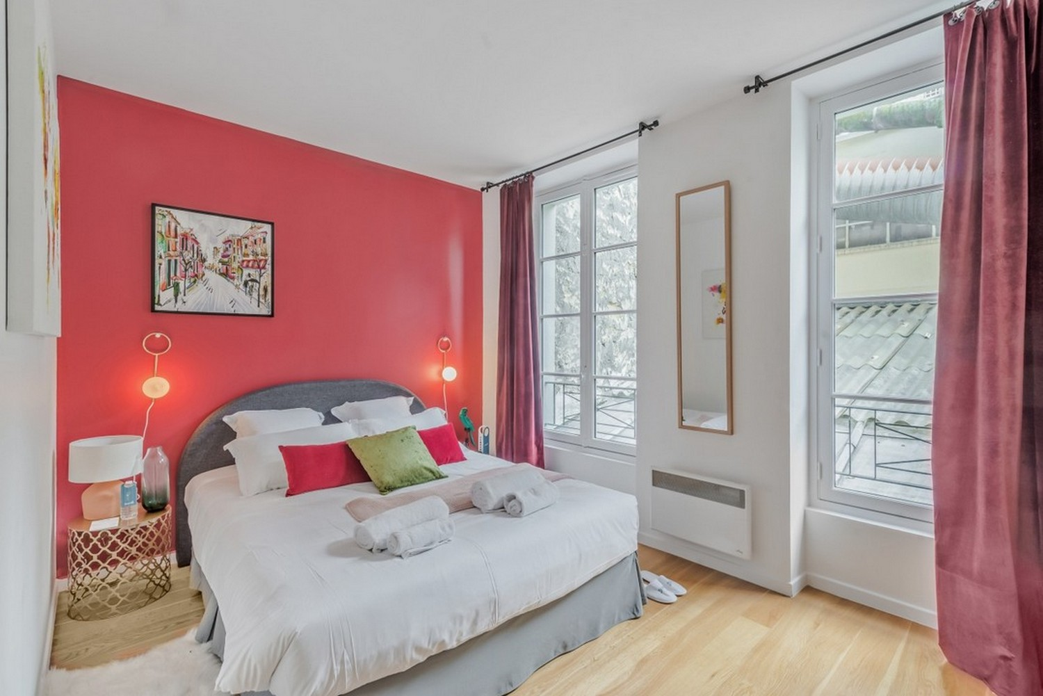 Bedroom at Enghien Apartments - Citybase Apartments