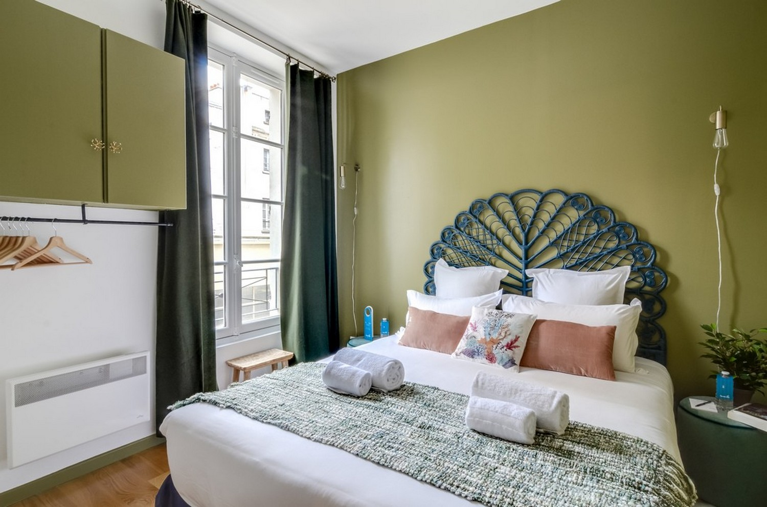 Modern bedroom at Enghien Apartments - Citybase Apartments