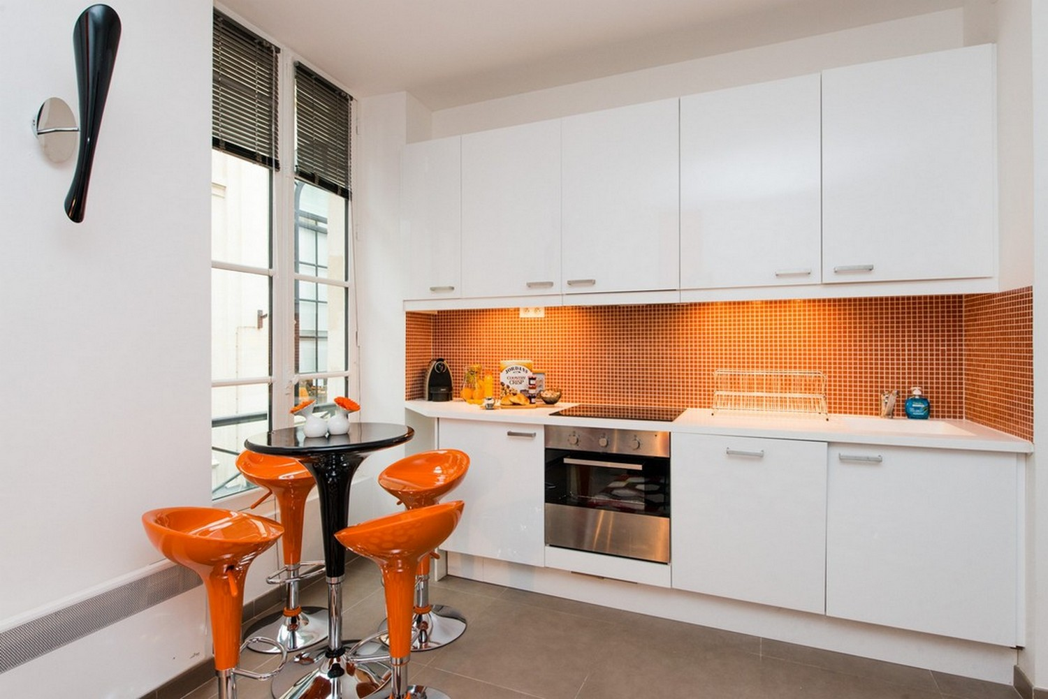 Kitchen at Enghien Apartments - Citybase Apartments