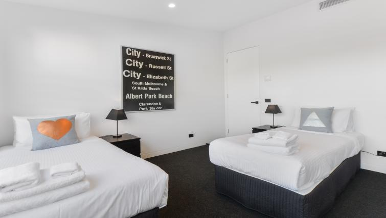 Beds at the County Down Apartment - Citybase Apartments