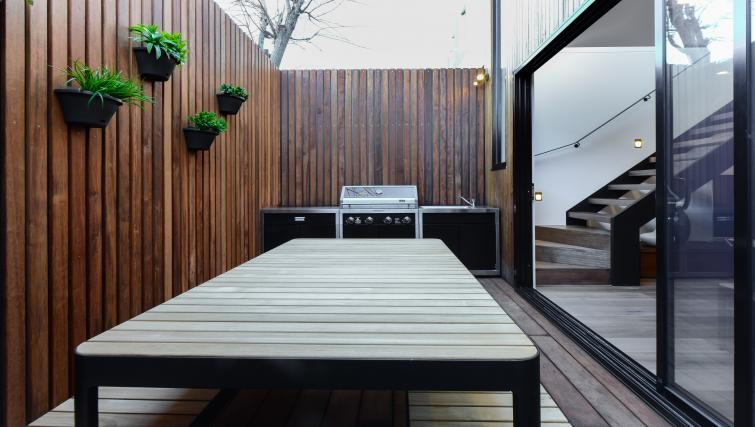 Decking at the County Down Apartment - Citybase Apartments