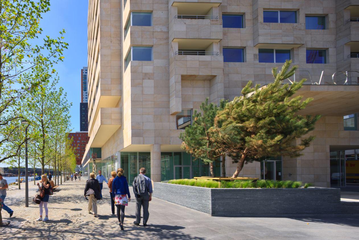 Exterior of New Orleans Apartments, Kop Van Zuid, Rotterdam - Citybase Apartments