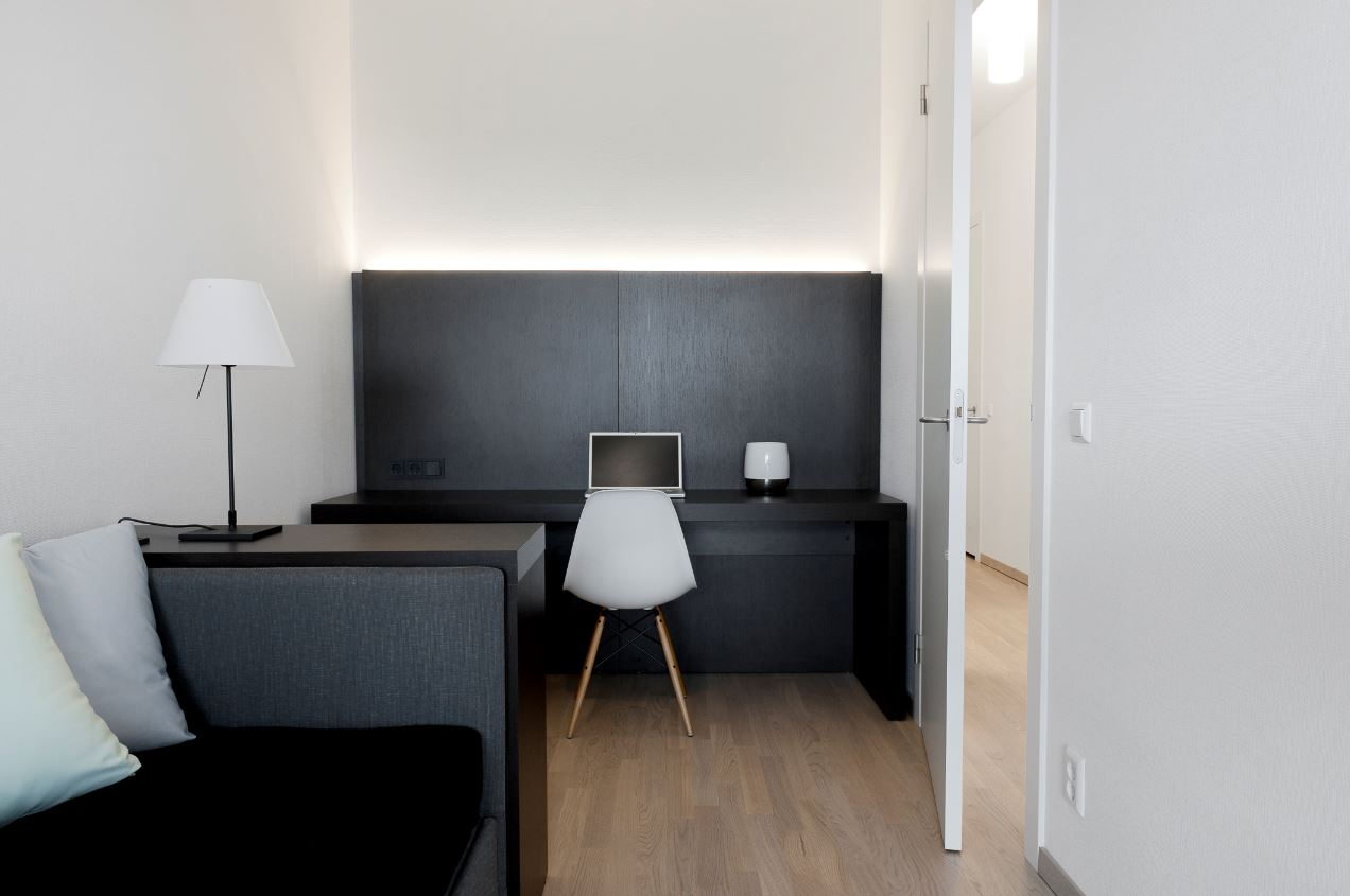 Study area at New Orleans Apartments, Kop Van Zuid, Rotterdam - Citybase Apartments