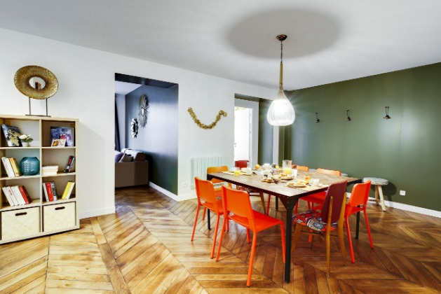 Dining Area at the Strasbourg Apartments - Citybase Apartments
