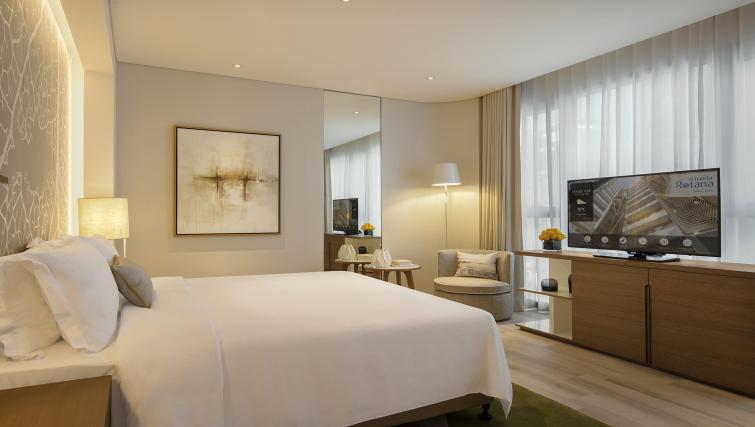 Bedroom at Al Bandar Arjaan Apartments - Citybase Apartments