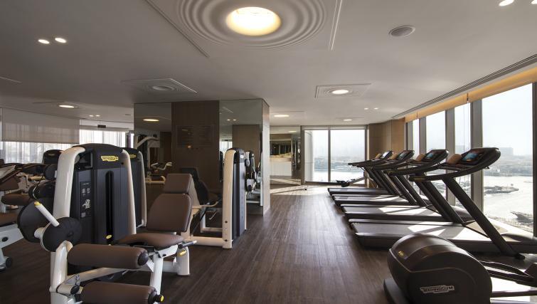 Gym at Al Bandar Arjaan Apartments - Citybase Apartments