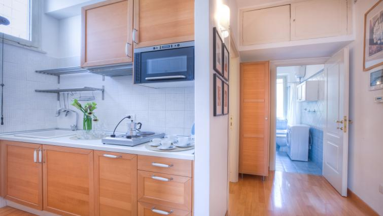 Kitchen at Penna Apartment - Citybase Apartments