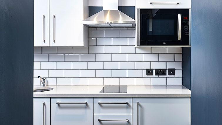 Kitchen at The Flint Studios - Citybase Apartments