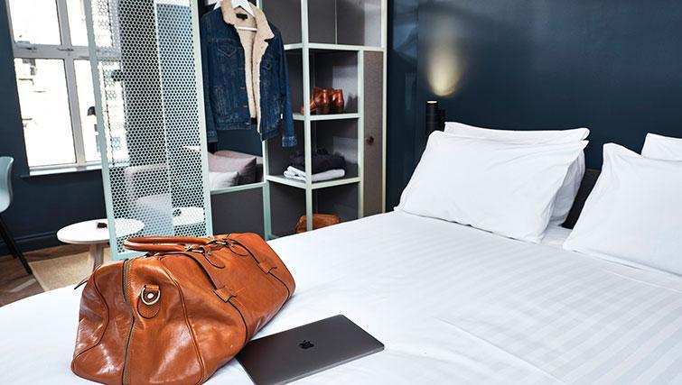 Bedroom at The Flint Studios - Citybase Apartments