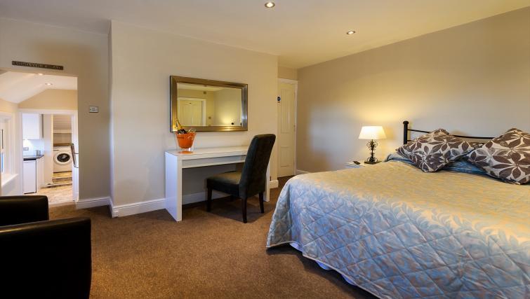 Bed area at Lennox Lea Studios & Apartments - Citybase Apartments