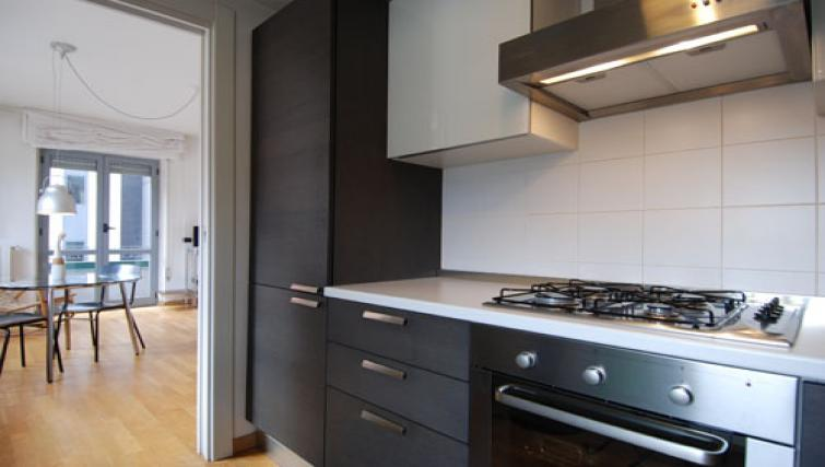 Kitchen facilities at the Zanella B Apartment - Citybase Apartments