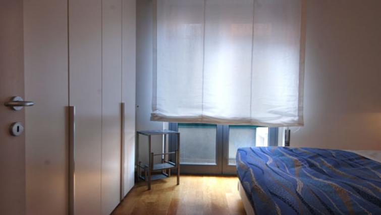 Bed at the Zanella B Apartment - Citybase Apartments