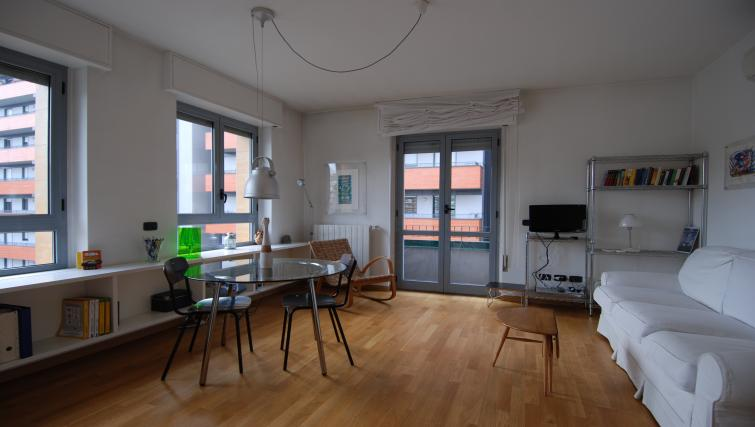 Living room at the Zanella B Apartment - Citybase Apartments
