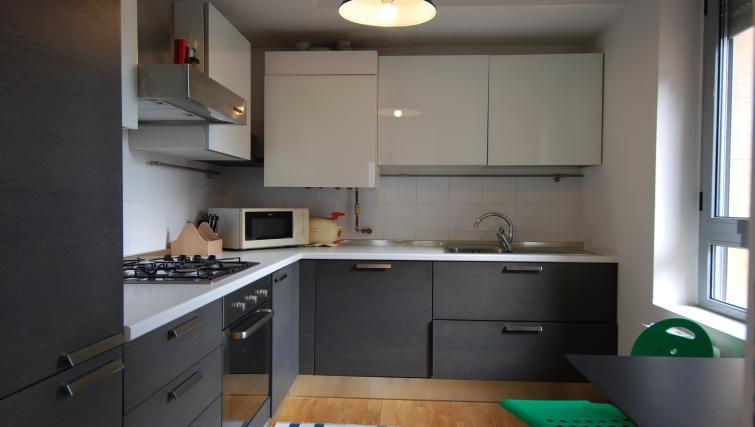 Kitchen at the Zanella B Apartment - Citybase Apartments