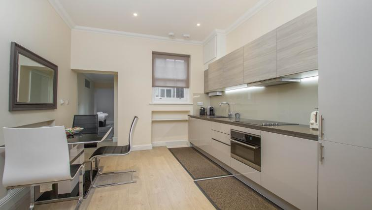 Modern kitchen at Marylebone Village Apartments - Citybase Apartments