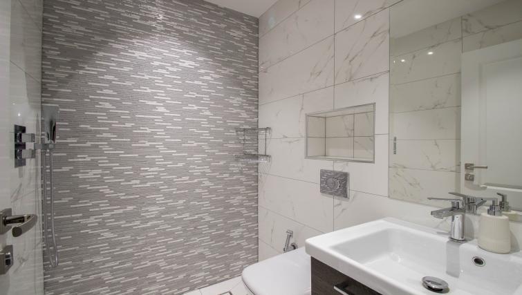 Sink at Marylebone Village Apartments - Citybase Apartments