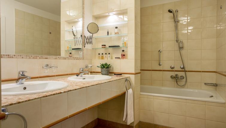 Bathroom at the Mamaison Residence Izabella - Citybase Apartments