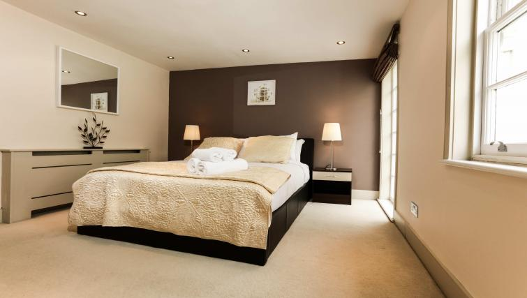 Bedroom at the Belsize Park Apartments - Citybase Apartments