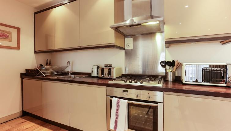 Kitchen at the Belsize Park Apartments - Citybase Apartments