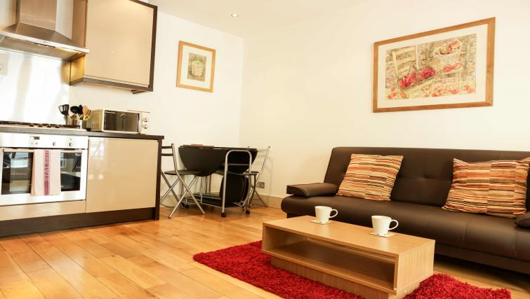 Furnishings at the Belsize Park Apartments - Citybase Apartments