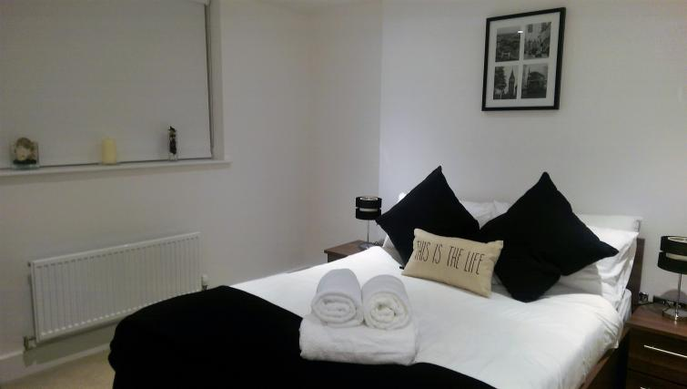 Bedroom at King's Cross Apartment - Citybase Apartments