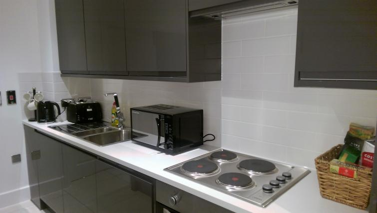 Kitchen at King's Cross Apartment - Citybase Apartments