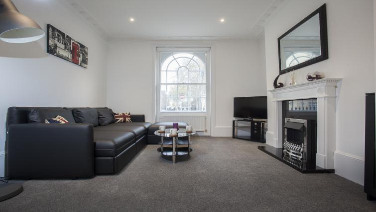 Living room at King's Cross Apartment - Citybase Apartments