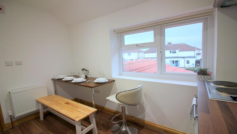 Dining place at the Peymans Saint Luke's Apartments - Citybase Apartments