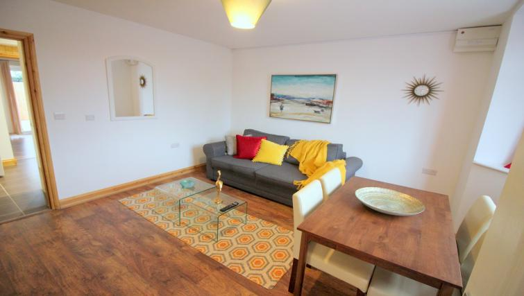 Living room at the Peymans Saint Luke's Apartments - Citybase Apartments