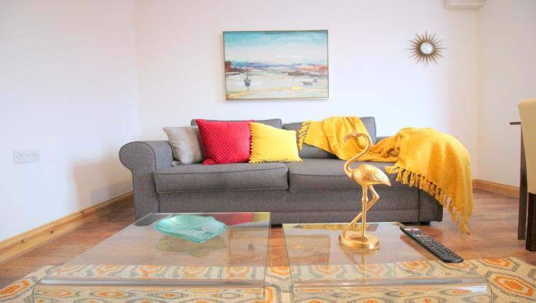 Sofa at the Peymans Saint Luke's Apartments - Citybase Apartments