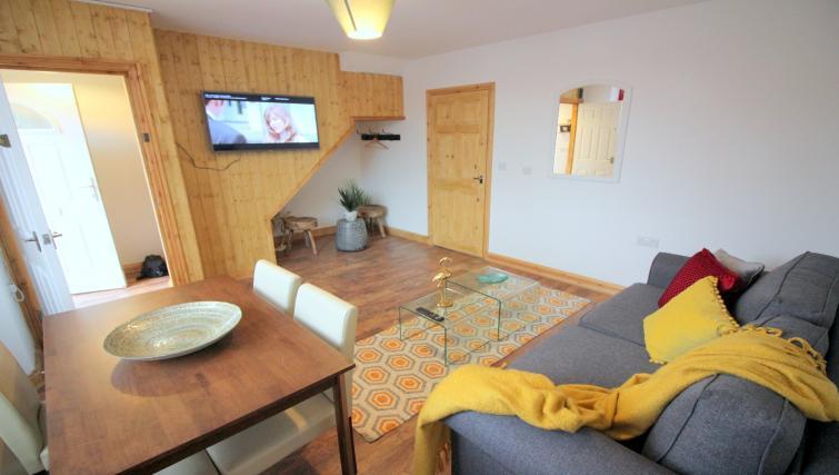 TV at the Peymans Saint Luke's Apartments - Citybase Apartments