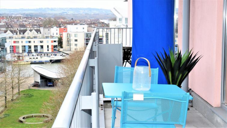Balcony at The Canary Apartments - Citybase Apartments
