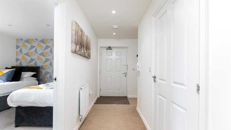 Hallway at Hertford Serviced Apartments - Citybase Apartments