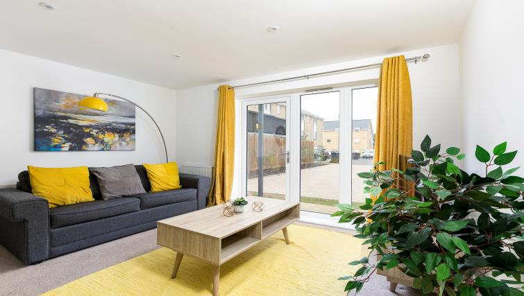 Lounge at Hertford Serviced Apartments - Citybase Apartments