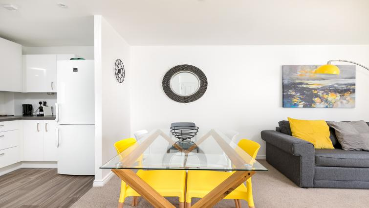 Dining table at Hertford Serviced Apartments - Citybase Apartments